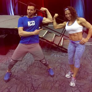 Pose down with the master, Tony Horton